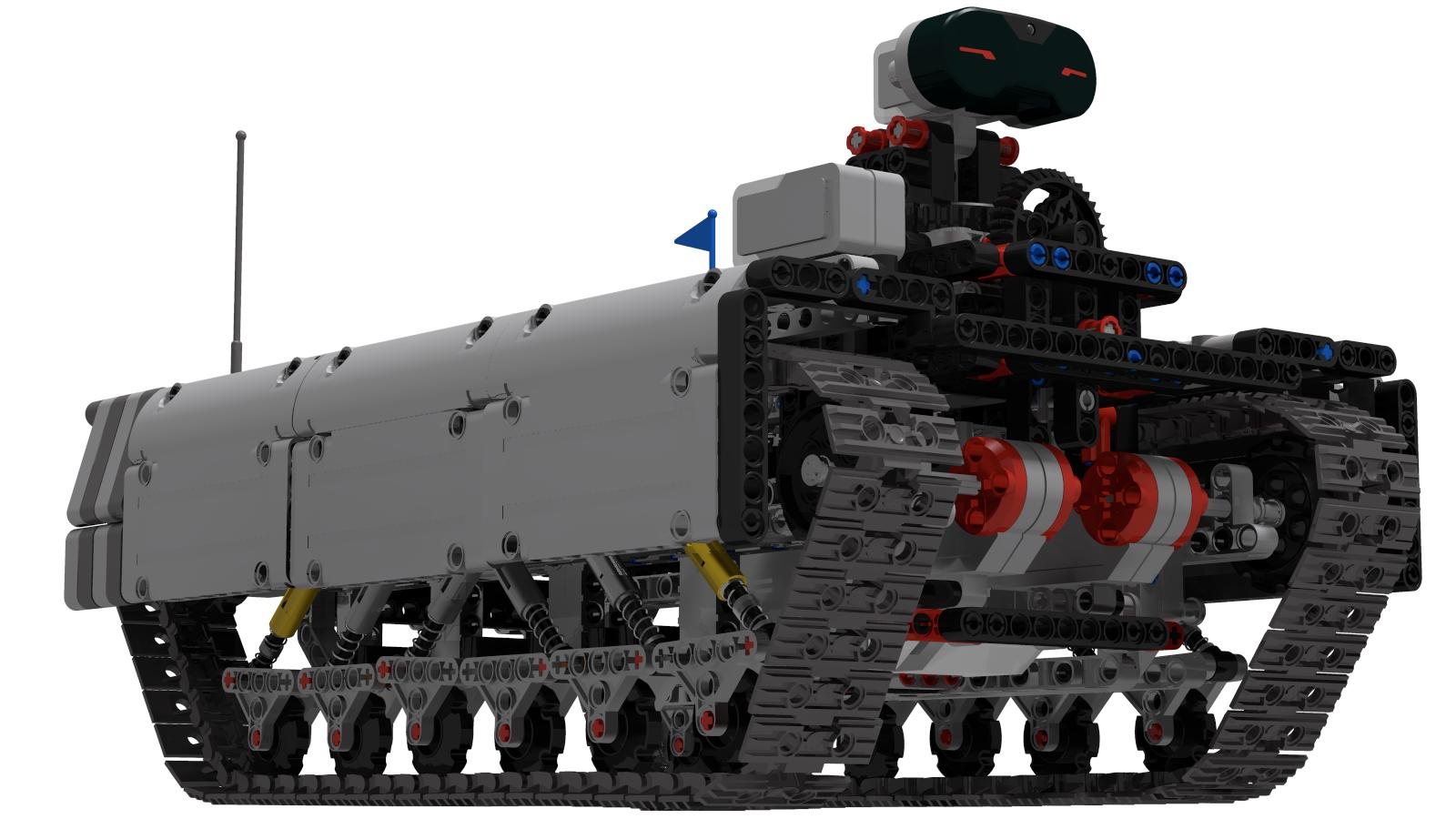 Ev3 Tracked Explorer Mark II  - Main rendering