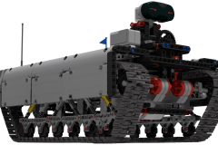 Ev3 Tracked Explorer Mark II  - Main rendering