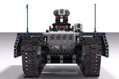 Ev3 Tracked Explorer Mark II  - Back View