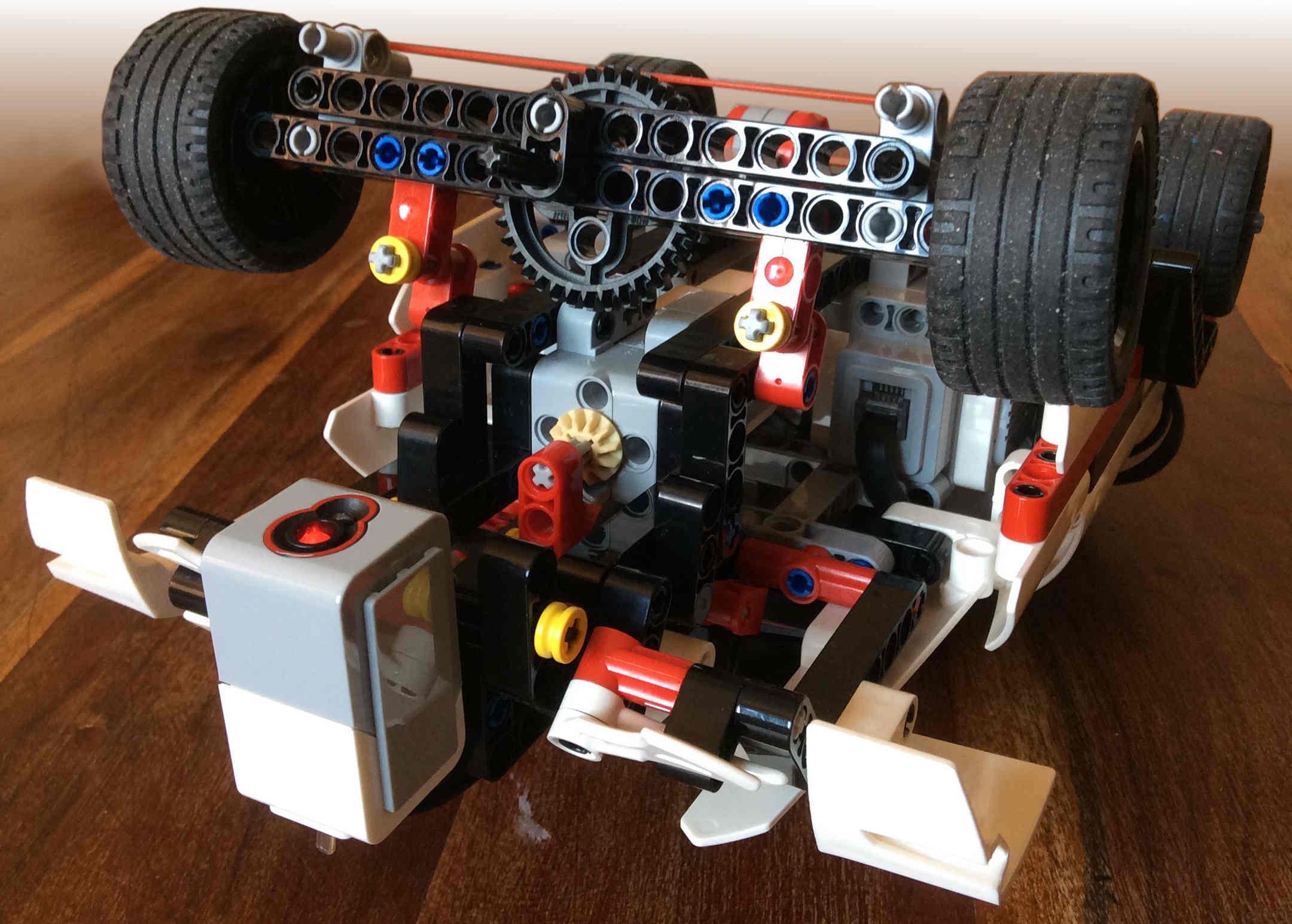 Lego Mindstorms Ev3 Sup3r Car Model - Smallrobots.it