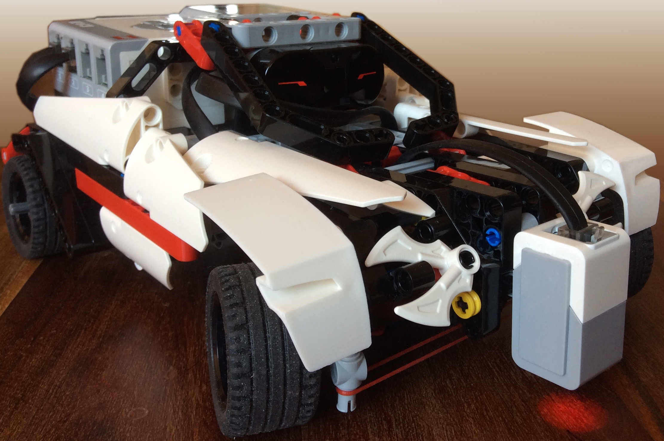 Lego Mindstorms Ev3 Sup3r Car Model