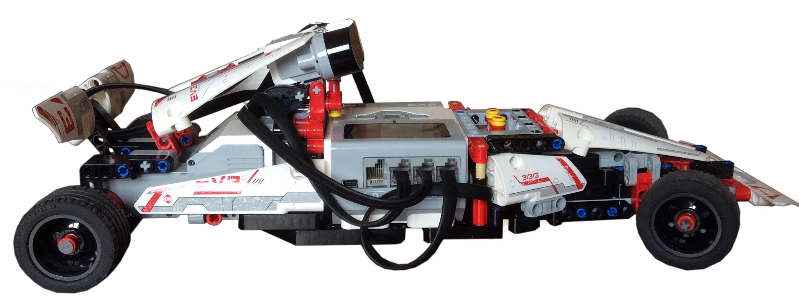 Formula Ev3 built with Lego Mindstorms