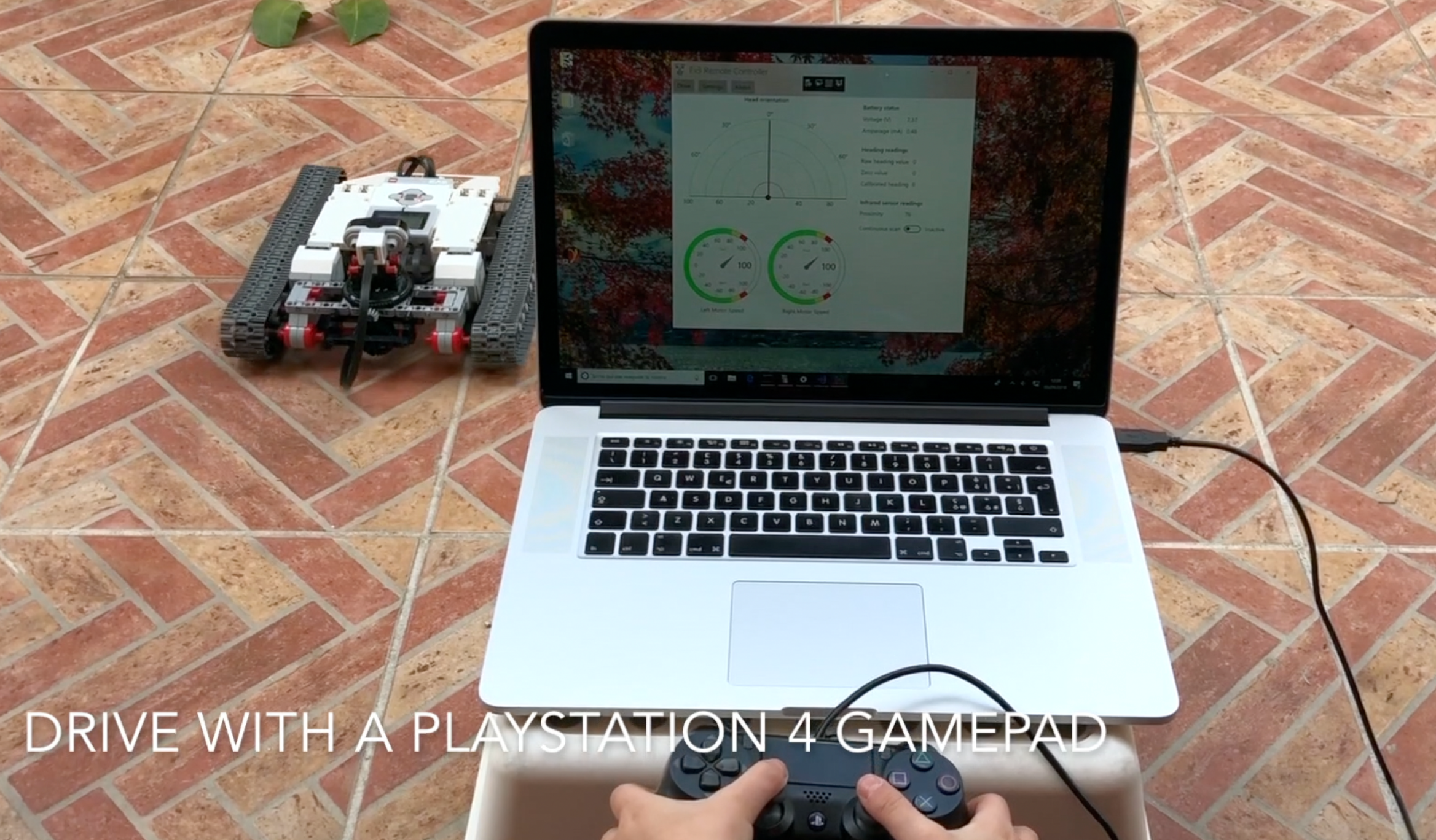 Ev3 Tracked Explorer video