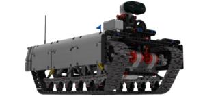Ev3 Tracked Explorer Mark II