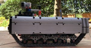Ev3 Tracked Explorer Mark II latest pictures